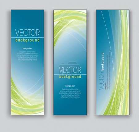 Vector Banners Abstract Backgrounds