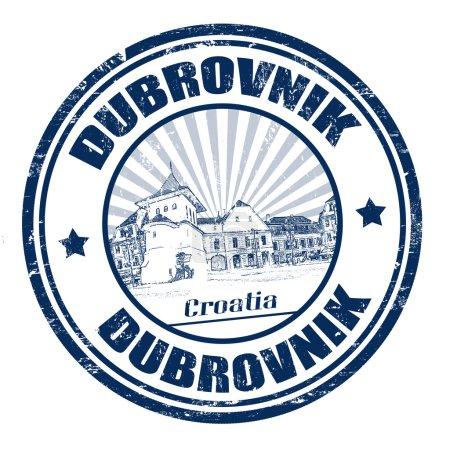 Dubrovnik stamp