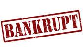 Bankrupt stamp