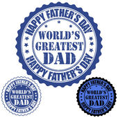 Happy father s day stamp