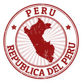 Peru stamp