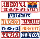 Arizona Cities stamps