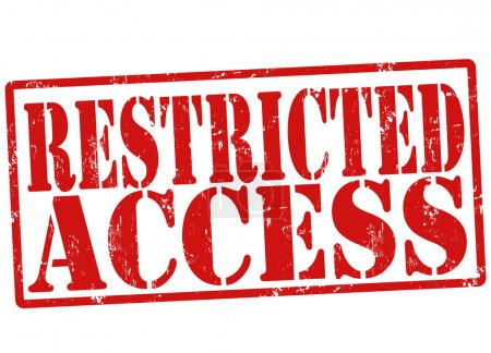 Restricted access stamp