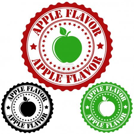 Apple flavor stamp