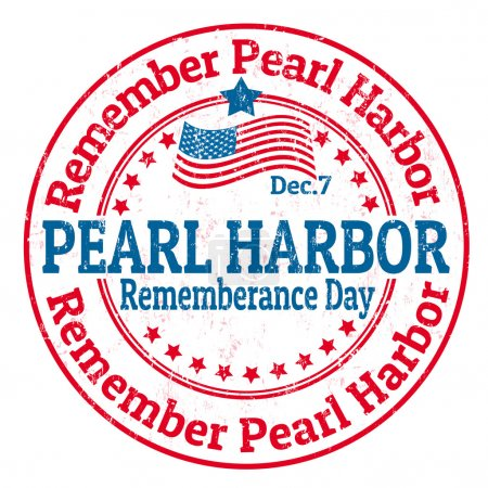 Pearl Harbor Rememberance Day stamp
