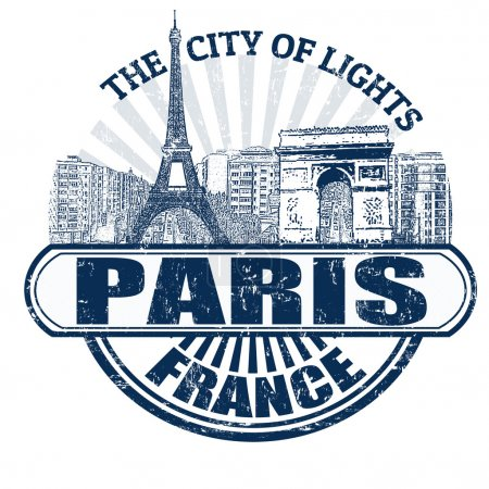 Paris ( The City of Lights) stamp