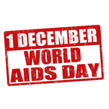 World Aids stamp