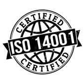 ISO 14001 stamp