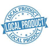 Lokales Produkt Briefmarke