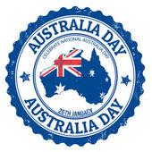Australien Tag Stempel