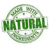 Vyroben s razítkem přírodních ingrediencí