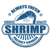 Shrimp stamp