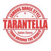 Tarantella stamp