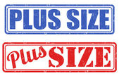 Plus size stamps