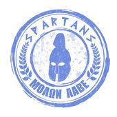 Spartans stamp