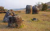 Sunset in Plain of Jars,