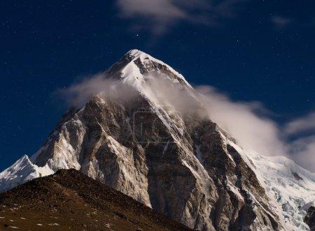 Himalayas at night.