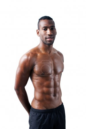 Handsome Muscular Black Man (15)