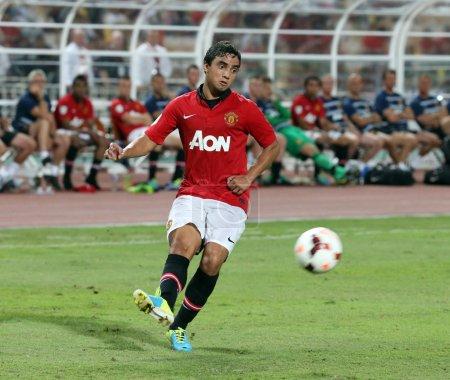 Rafael Da Silva of Man Utd.