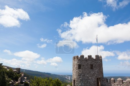 Castle of Mouros in the village of Sintra, Portugal
