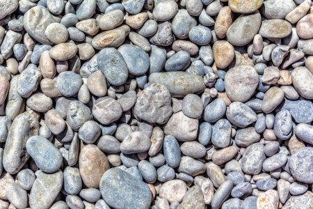 River stones background...
