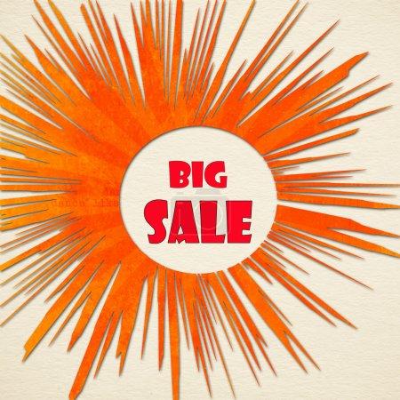 Big sale over