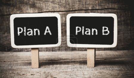Plan A or Plan B