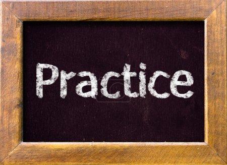 """"""" practice"""""""