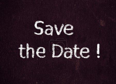 Speichern Sie das Datum !