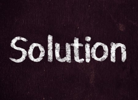 Solutions title