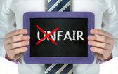 Unfair-fair