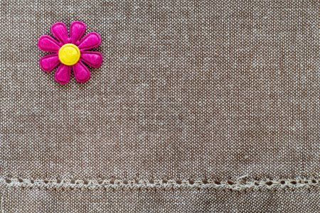Small buds on the fabric