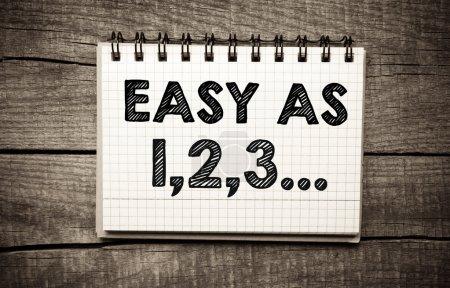 """easy as 123"""