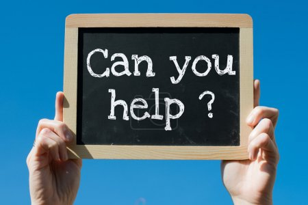 Can you help ?