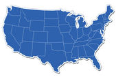 Amerikai Egyesült Államok Térkép