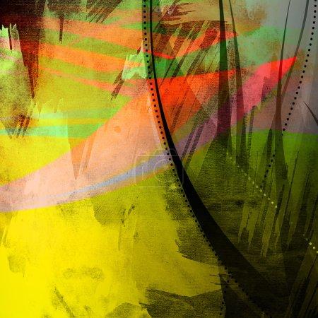 Photo pour Peint Grunge Texture de fond - image libre de droit