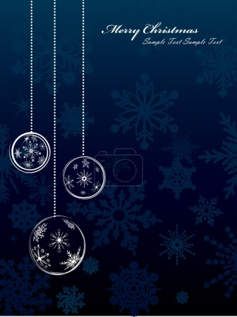 Snowflake Christmas Background