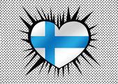 Státní vlajka Finska