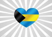 Státní vlajka Baham motivy ideový návrh