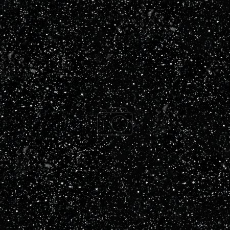Seamless Realistic Snow Texture on a black background