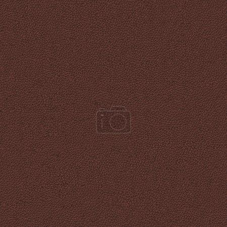 Photo pour Modèle texture transparente cuir brun mosaïque - image libre de droit