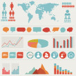 Vector set of infographic elements...