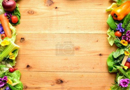 Photo for Image of vegetables for salad - Royalty Free Image