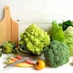 Image of spring vegetables...