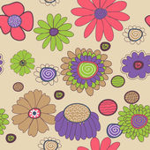 "Постер, картина, фотообои ""цветочная структура"""