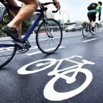 Bike lane...