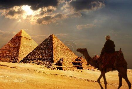 Giza pyramids, cairo, egypt...