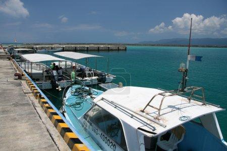 Speed Boat - Iriomote Jima Island, Okinawa, Japan