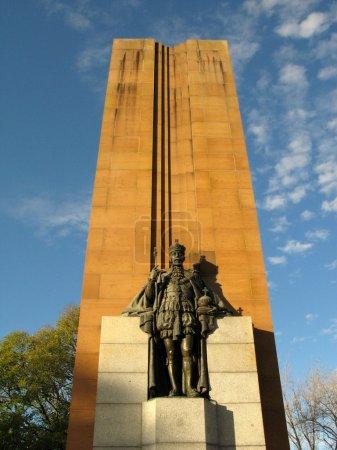 roi monument edward - domaine des rois, melbourne, Australie