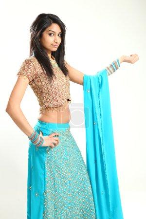 Traditional Beautiful Indian Woman